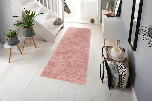 Shaggy-Teppich als Läufer im Flur