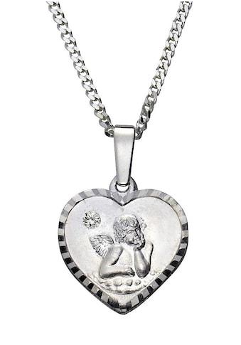 Firetti Kette mit Anhänger »Herz mit Schutzengel« kaufen