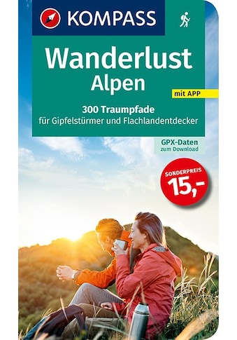 Buch »Wanderlust Alpen / KOMPASS-Karten GmbH« kaufen