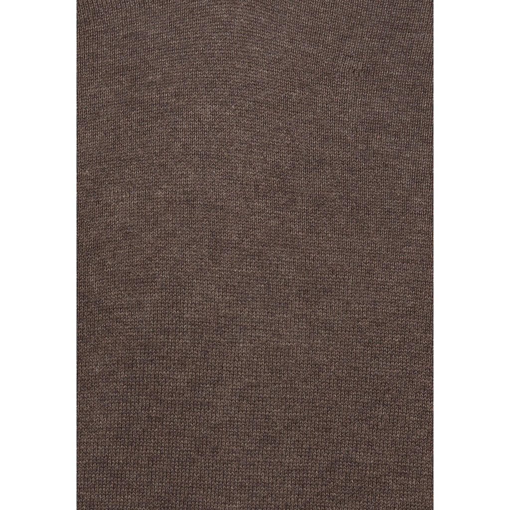 Class International V-Ausschnitt-Pullover