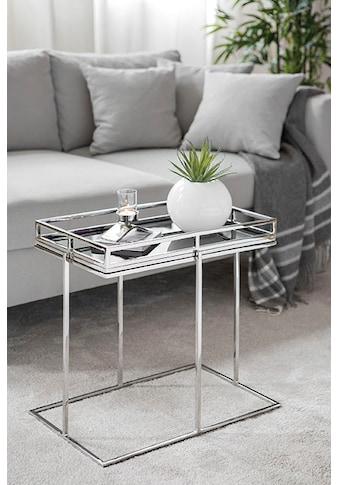 Fink Tabletttisch »TRIEST«, (Set, Tablett mit Ständer) kaufen