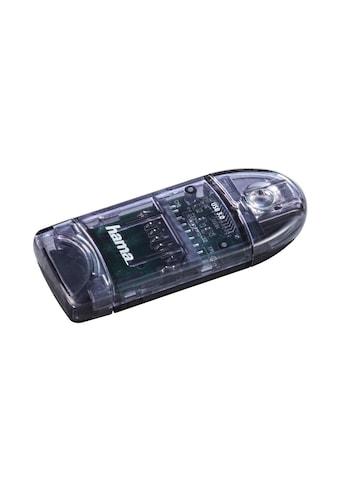 Hama Speicherkartenleser, SD/micro SD, Anthrazit kaufen