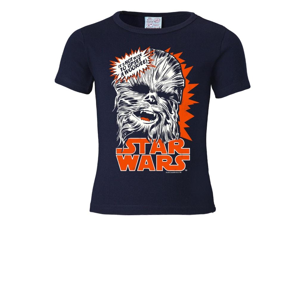 LOGOSHIRT T-Shirt mit tollem Retro-Aufdruck