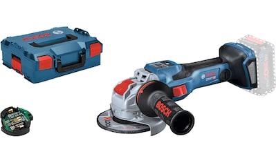 Bosch Professional Akku-Winkelschleifer »GWX 18V-15 SC 125mm (L) solo CLC«, ohne Akku... kaufen