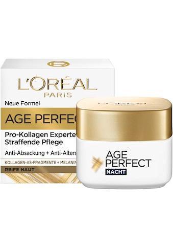 L'ORÉAL PARIS Nachtcreme »Age Perfect Pro-Kollagen Nacht« kaufen