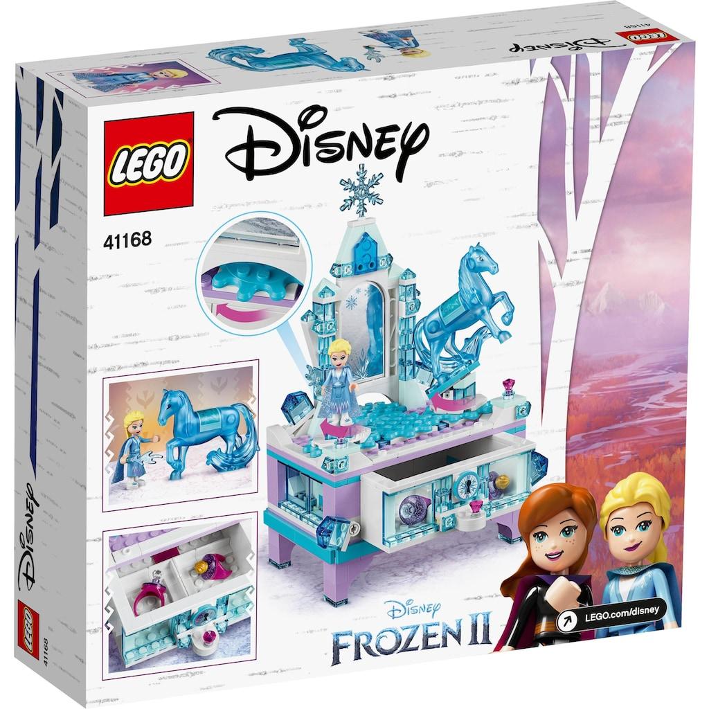 LEGO® Konstruktionsspielsteine »Elsas Schmuckkästchen (41168), LEGO® Disney Princess«, (300 St.)