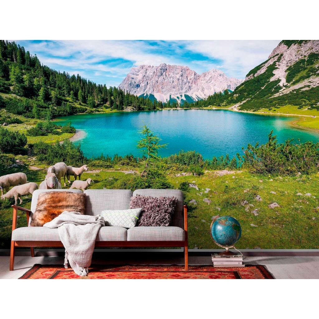 Komar Vliestapete »Paradise Lake«, naturalistisch