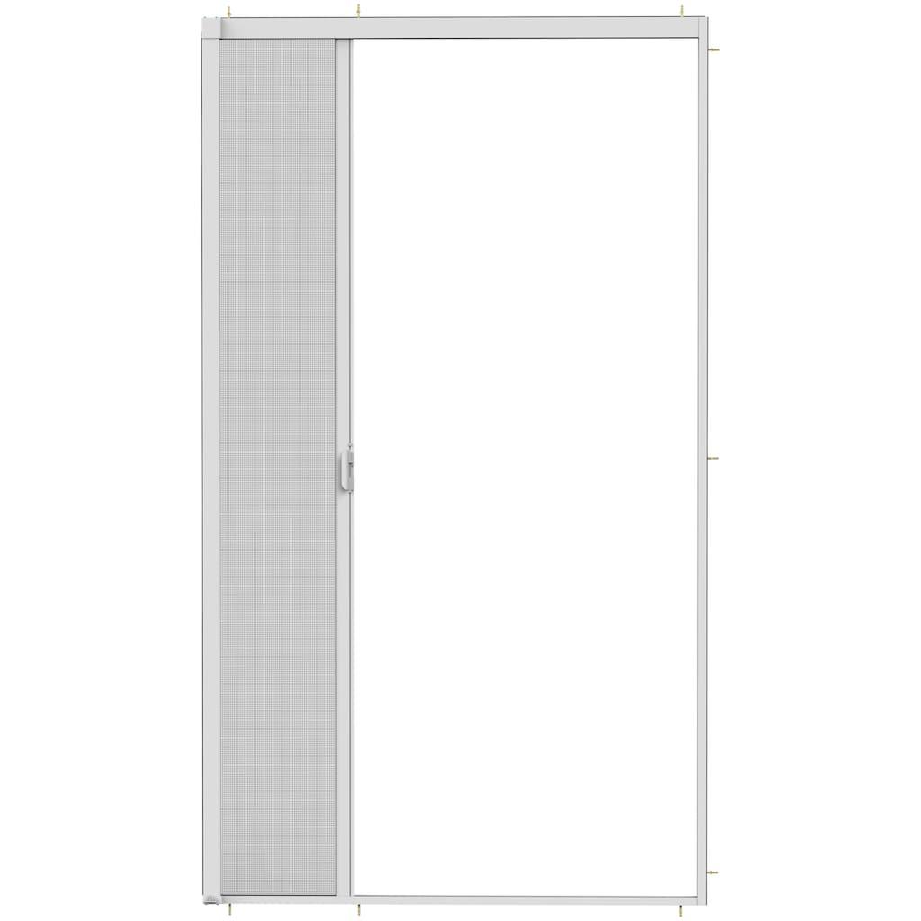 hecht international Insektenschutz-Rollo »SMART«, für Türen, weiß/anthrazit, BxH: 160x220 cm