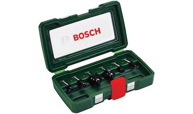 BOSCH Set: Fräsbohrer 6 - tlg., 8 mm Schaft kaufen