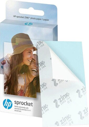 HP Fotopapier »HPIZ2X320 HP Sprocket«, 5,1 x 7,6 cm (2 x 3 Zoll) kaufen