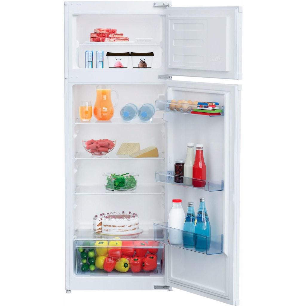 BEKO Einbaukühlschrank, BDSA250K3S, 144,8 cm hoch, 54,5 cm breit, mit Abtauautomatik