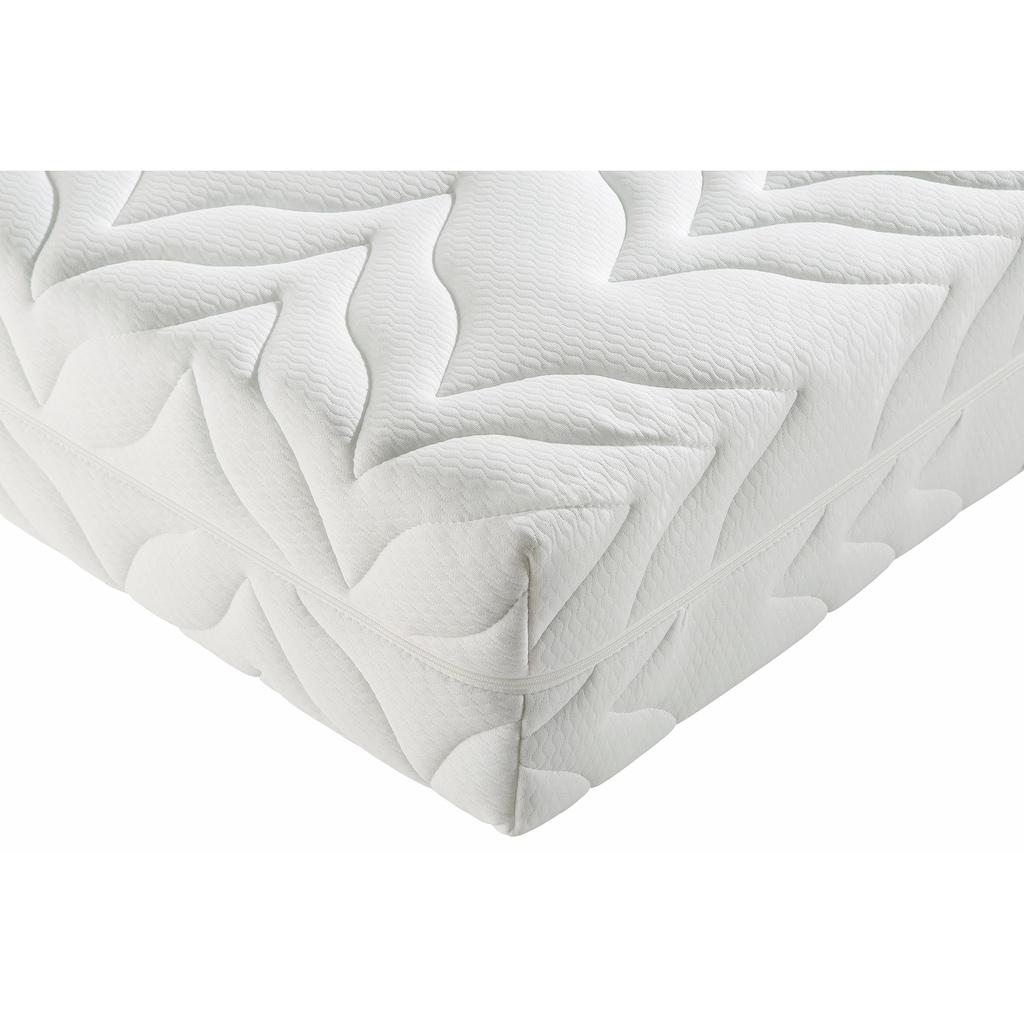 Breckle Taschenfederkernmatratze + Lattenrost »Tendenz K«, (Set, 2-tlg.), inkl. Lattenrost (28 L.) mit Kopftverstellung - das perfekt abgestimmte Schlafsystem für jeden Geldbeutel