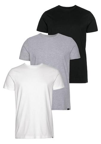 John Devin Rundhalsshirt (Packung, 3er - Pack) kaufen