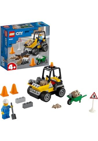 LEGO® Konstruktionsspielsteine »Baustellen-LKW (60284), LEGO® City«, (58 St.), Made in... kaufen