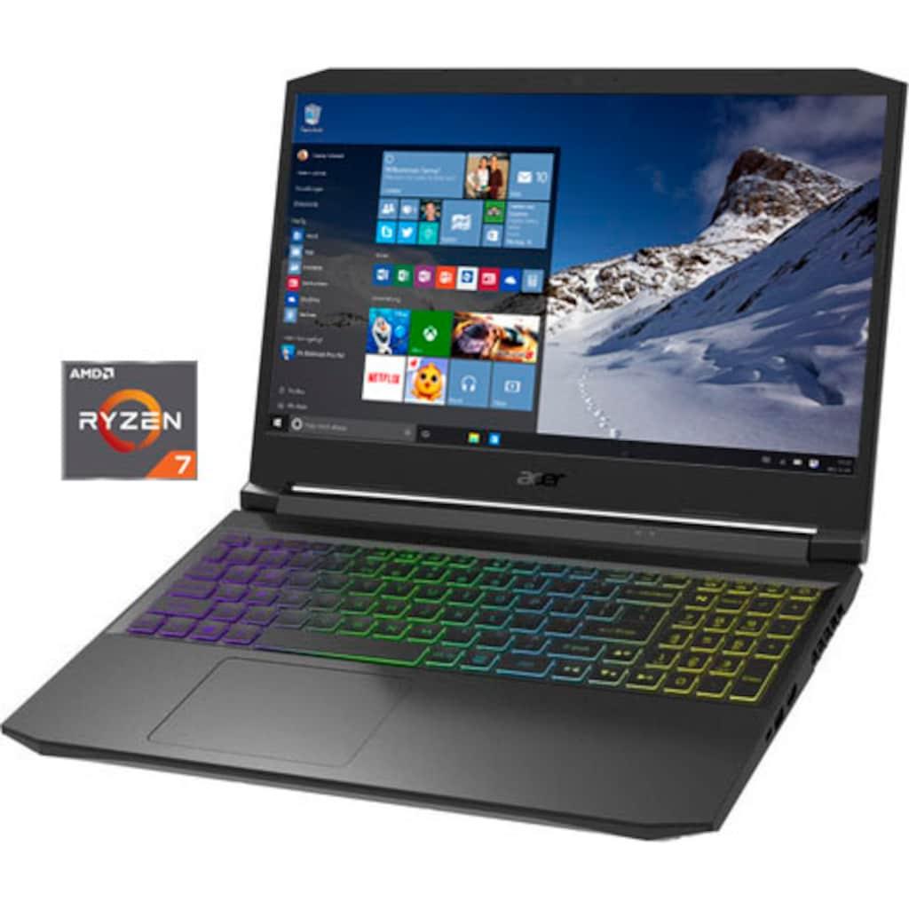 """Acer Notebook »AN515-45-R1HQ«, (39,62 cm/15,6 """" AMD Ryzen 7 GeForce RTX 3070\r\n 1000 GB SSD), Kostenloses Upgrade auf Windows 11, sobald verfügbar"""