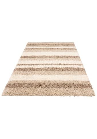 Home affaire Hochflor-Teppich »Riga«, rechteckig, 45 mm Höhe, dichter Flor, Wohnzimmer kaufen
