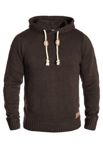 Solid Kapuzenpullover »Pitu«, Grobstrick-Pullover mit Kapuze kaufen