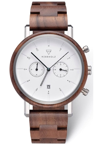 KERBHOLZ Chronograph »Johann Walnut« kaufen