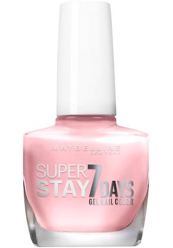 MAYBELLINE NEW YORK Nagellack »Superstay 7 Days« kaufen