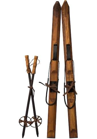 Dekoobjekt »Ski mit Stöcken AUSTRIA« kaufen