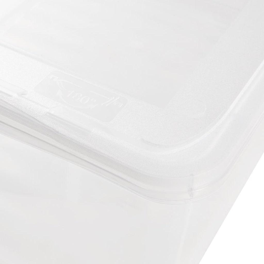 keeeper Stapelbox »bea«, (Set, 8 St.), mit Belüftungsfunktion