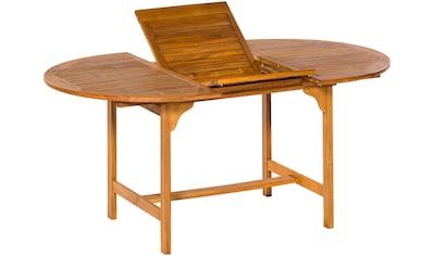 MERXX Gartentisch , Akazienholz, ausziehbar, 170x100 cm kaufen