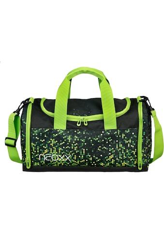 neoxx Sporttasche »Champ, Pixel in my mind«, aus recycelten PET-Flaschen kaufen