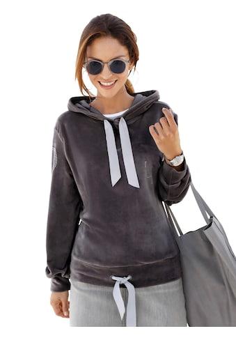 Classic Inspirationen Sweatshirt in samtig weicher Nicki - Qualität kaufen