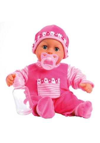 Bayer Babypuppe »First Words, pink« kaufen