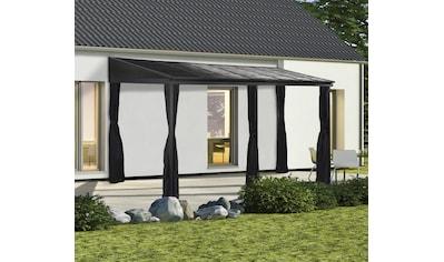Sojag Anbaupavillon »Portland 10x16 anthrazit«, BxTxH: 483x298x240 cm kaufen