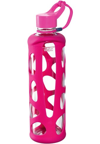 LEONARDO Trinkflasche »To go Flasche II IN GIRO«, Glas/Silikon, 750 ml kaufen