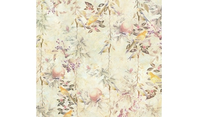 Komar Fototapete »Cosy Bohemian«, floral-Wald-natürlich kaufen