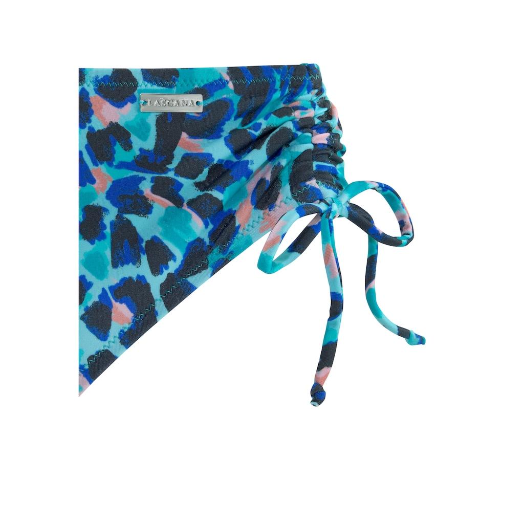 LASCANA Bügel-Bikini, mit höherer Hose
