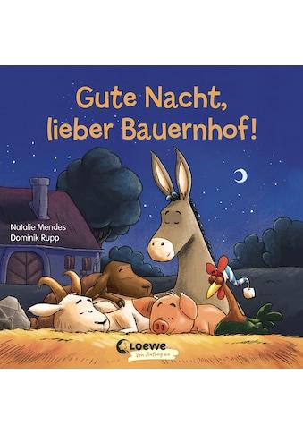 Buch »Gute Nacht, lieber Bauernhof! / Natalie Mendes, Loewe Von Anfang An, Loewe... kaufen