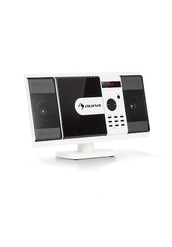 Auna Vertikal Stereoanlage Kompaktanlage DVD CD Player Bluetooth USB »MCD 82 BT« kaufen