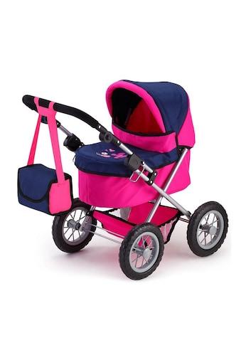 Bayer Puppenwagen »Trendy, pink/blau«, inkl. Wickeltasche kaufen