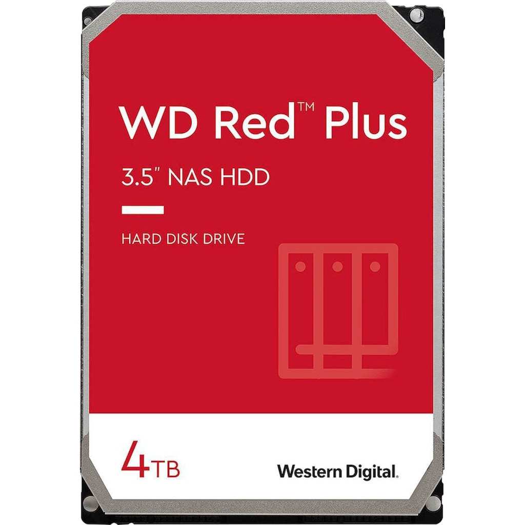 """Western Digital HDD-NAS-Festplatte »WD Red Plus«, 3,5 """""""