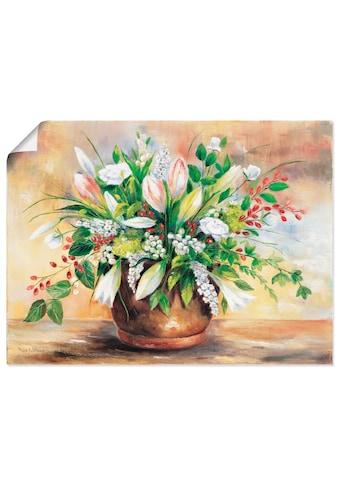 Artland Wandbild »Blütenverschönerung«, Blumen, (1 St.), in vielen Größen &... kaufen