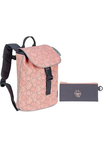 Lässig Kinderrucksack »4Kids Spooky Peach, Mini Duffle Backpack«, Reflektoren,... kaufen