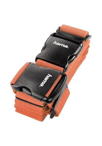Hama 2 - Wege - Gepäckgurt, 5x200cm/5x230cm, Orange kaufen
