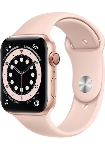 Apple Smartwatch »Apple Watch Series 6 GPS + Cellular, Aluminium Gehäuse, 44 mm mit... kaufen