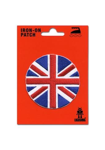 LOGOSHIRT Aufnäher mit Union Jack-Motiv kaufen