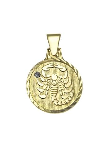 Vivance Anhänger Sternzeichen Skorpion »333/ -  Gelbgold« kaufen