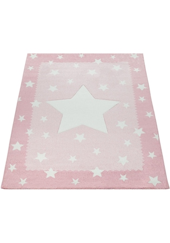 Paco Home Kinderteppich »Ela 398«, rechteckig, 17 mm Höhe, Motiv Sterne,... kaufen