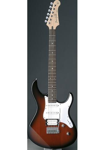 Yamaha E-Gitarre »PA112VOVSRL, Old Violin Sunburst« kaufen