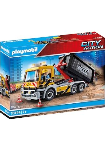 Playmobil® Konstruktions-Spielset »LKW mit Wechselaufbau (70444), City Action«, (104... kaufen