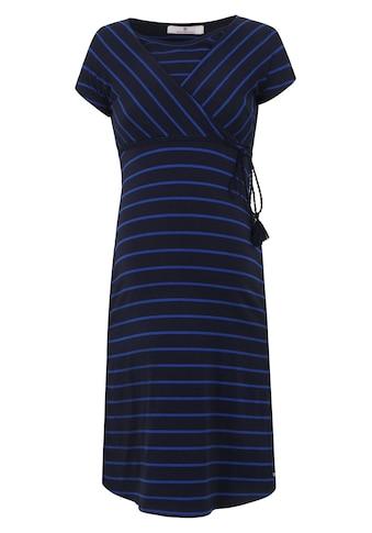 Bellybutton Kleid gestreift mit Stillfunktion kurzärmlig kaufen