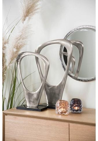 Fink Dekoobjekt »Skulptur FANTASIA, silberfarben«, handgefertigt, aus Metall, mit... kaufen
