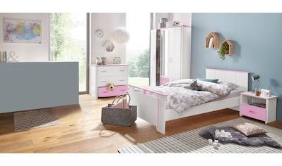 Parisot Jugendzimmer-Set »Biotiful«, (Set, 4 St.), mit Kleiderschrank und Kommode kaufen