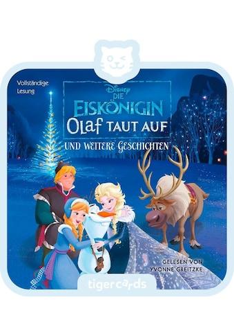 tigerbox Hörspiel, »Die Eiskönigin  -  Olaf taut auf« kaufen